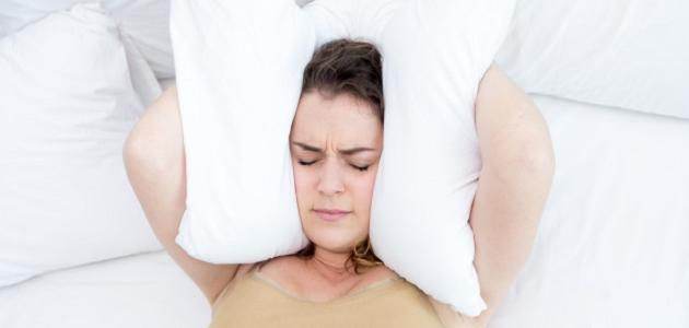 ما هو السبب في عدم النوم