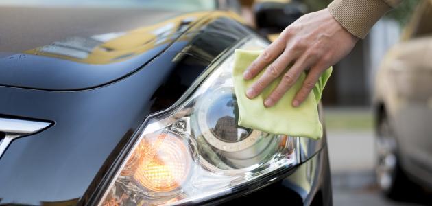 كيفية تنظيف مصابيح السيارة