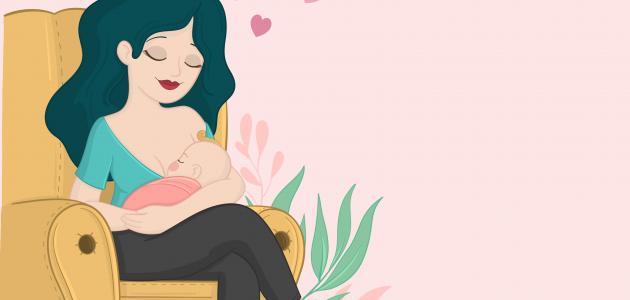 كم عدد مرات الرضاعة الطبيعية