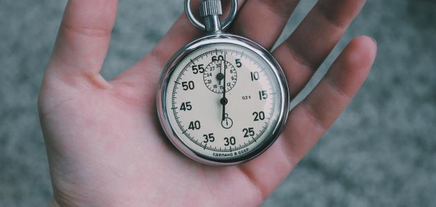 ما مفهوم الوقت
