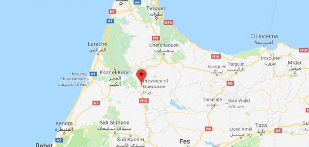 مدينة وزان المغربية