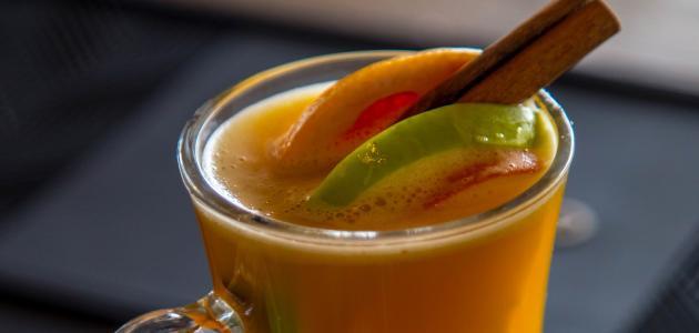 طريقة عمل عصير مانجا وموز