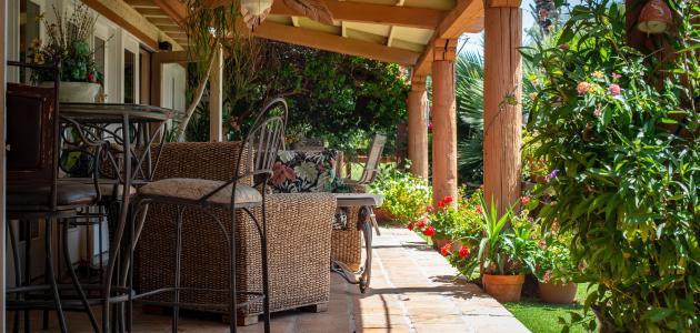 أفكار حدائق منزلية