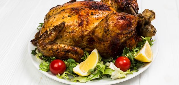 طريقة صنع الثوم للدجاج
