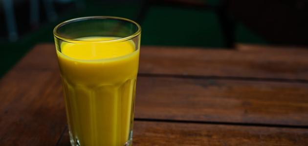 طريقة عمل عصير مانجا مثلج
