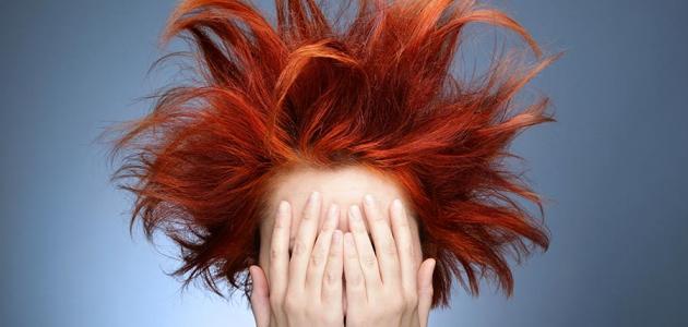 مشاكل الشعر المختلفة