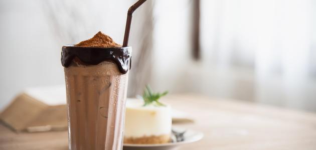 طريقة عمل عصير ميلك شيك شوكولاته