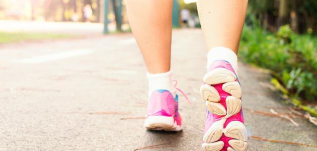 كيفية رياضة المشي