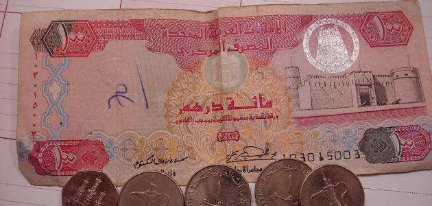 ما هي عملة الإمارات العربية المتحدة