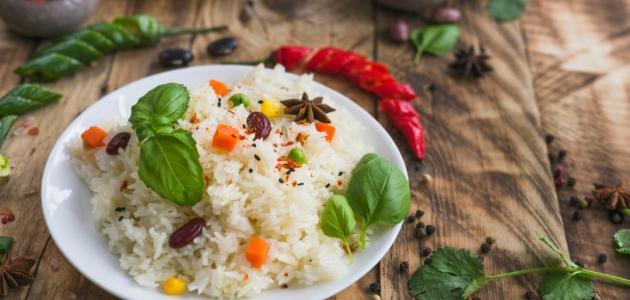 طريقة عمل أرز