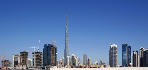 ما اسم برج دبي