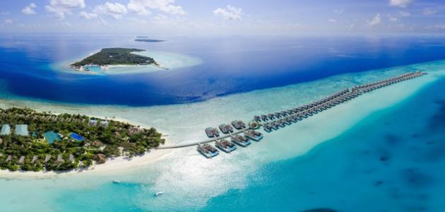 ما هو عدد جزر المالديف