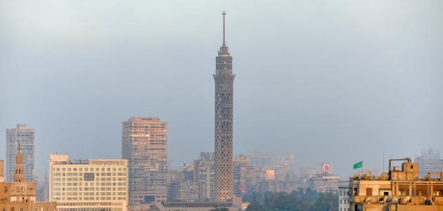 ما هو طول برج القاهرة