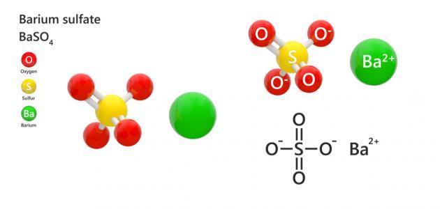 ما هو كبريتات الباريوم