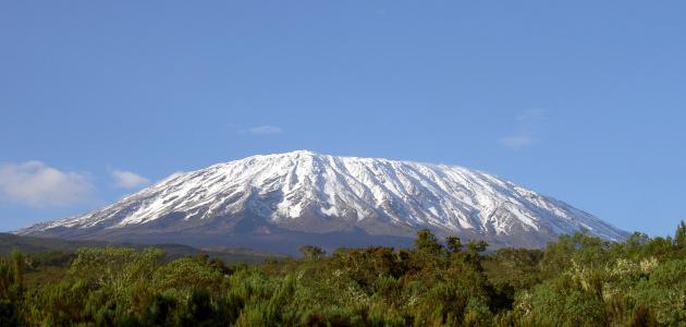 ما هو اسم أعلى جبل في إفريقيا