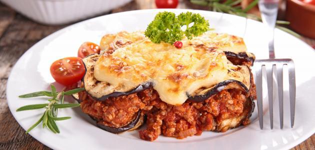 Modus operandi moussaka eggplant without frying