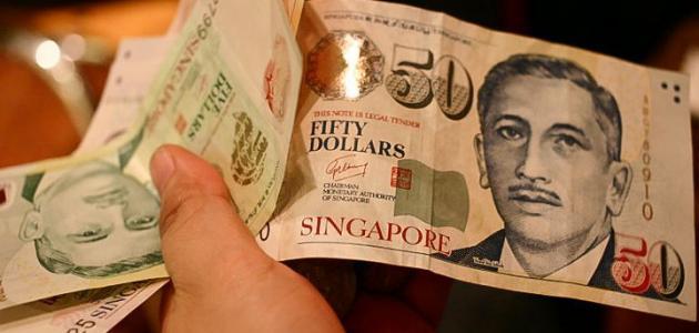 ما اسم عملة سنغافورة
