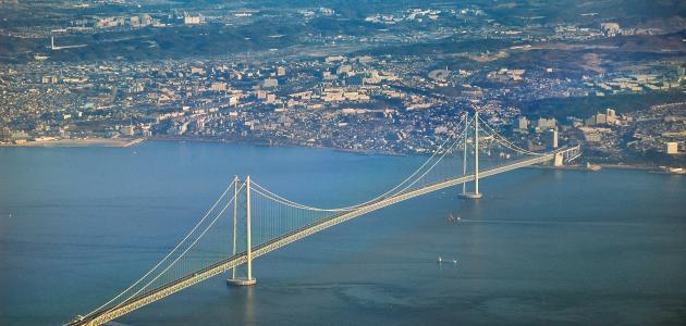 ما هو أكبر جسر معلق في العالم