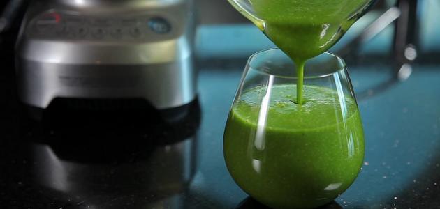 طريقة عمل عصير الخضروات