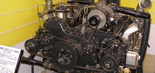 أجزاء المحرك الديزل