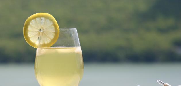 طريقة عمل عصير ليموناضة