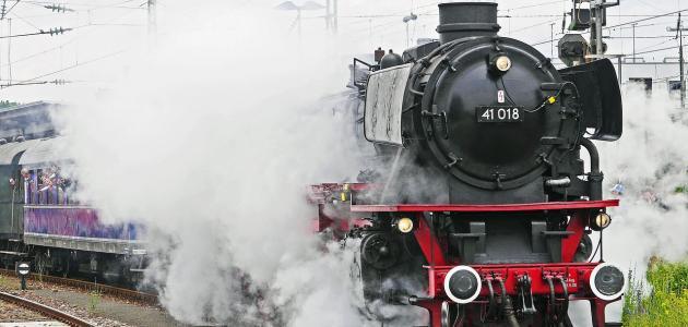 أجزاء المحرك البخاري