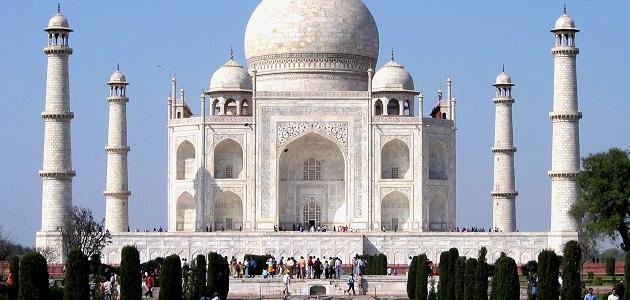 أهم المعالم السياحية في الهند