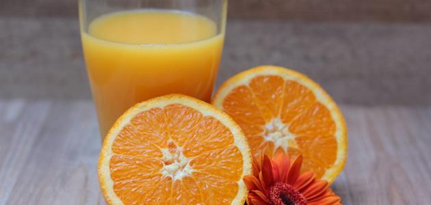 طريقة عمل عصير الأناناس مع البرتقال
