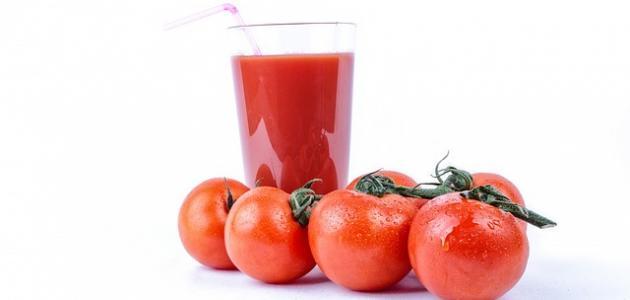 طريقة عمل عصير طماطم طبيعي