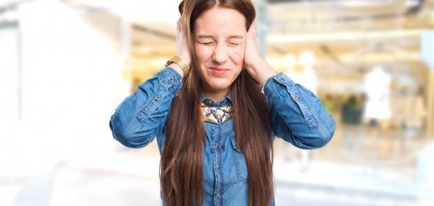 التهاب حاد في الأذن الوسطى