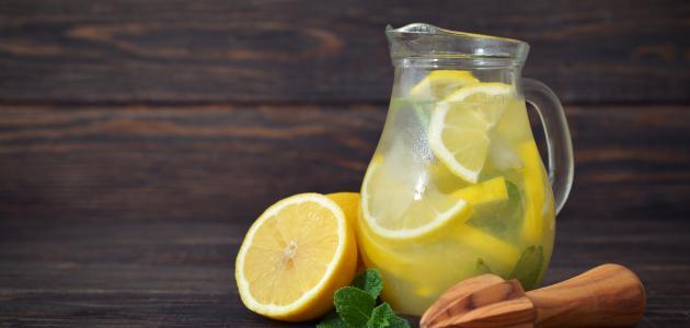 طريقة عصير الليمون
