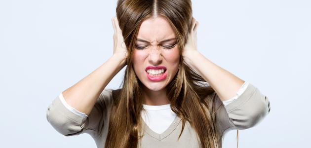 آثار ثقب طبلة الأذن