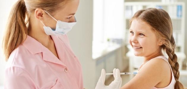 أنواع تطعيمات الأطفال