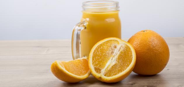 طريقة عمل عصير برتقال خلاط