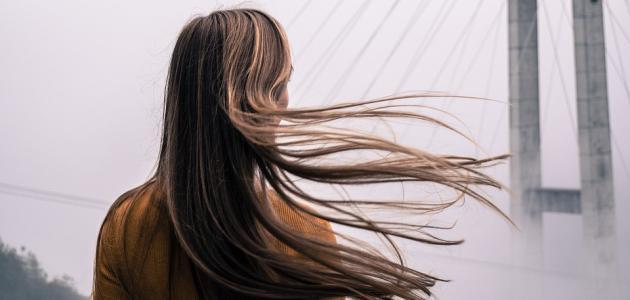 كيفية وضع الميش على الشعر