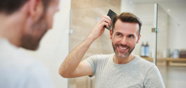 كيفية منع تساقط الشعر عند الرجال