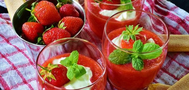 طريقة عمل عصير فواكه طبيعي