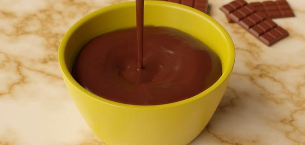 طريقة عمل صوص شوكولاتة للتورتة