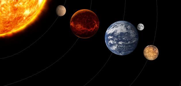 ما هي الكواكب التسعة