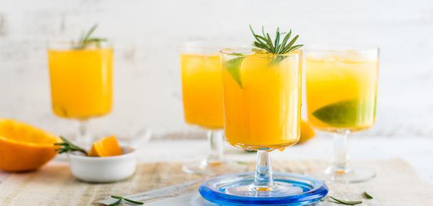 طريقة عمل عصير مانجا مجمد