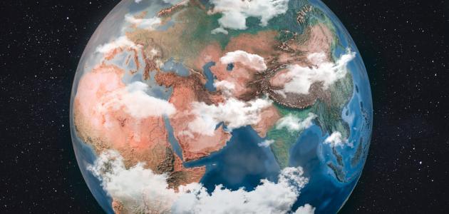 ما هي مكونات القشرة الأرضية