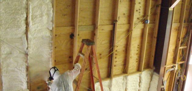 كيفية عزل الجدران من الرطوبة