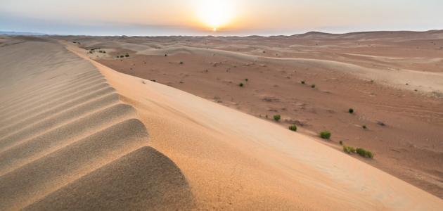 ما هي صحراء الربع الخالي