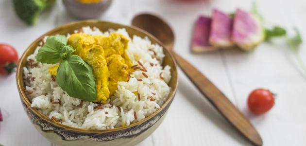 كيفية تحضير أرز بالدجاج