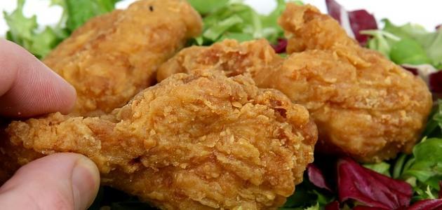 كيفية تحضير الدجاج المقلي