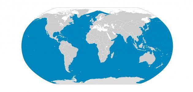 ما عدد المحيطات في العالم