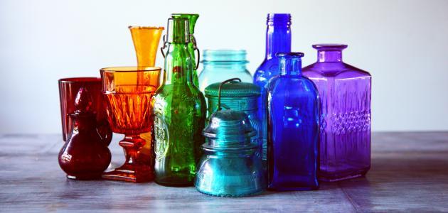 ما هي مكونات الزجاج