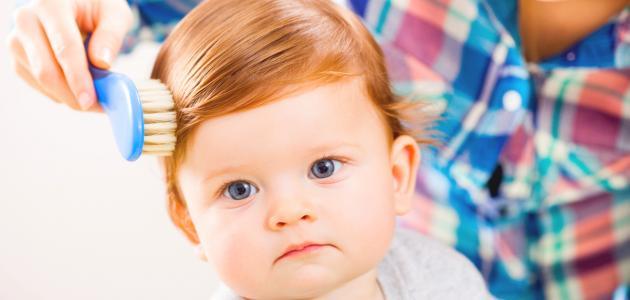 كيف أجعل شعر طفلي الرضيع كثيفاً