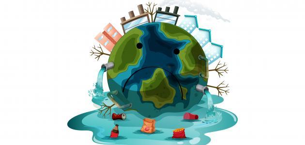 ما هي مصادر تلوث البيئة