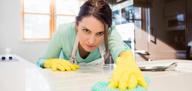 كيفية تنظيف المطبخ بسهولة